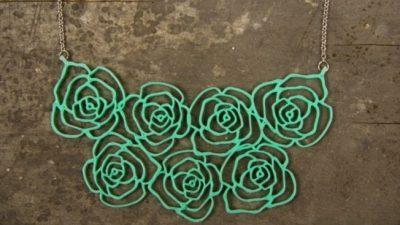 Американска компанија прави 3Д печатен накит од растенија