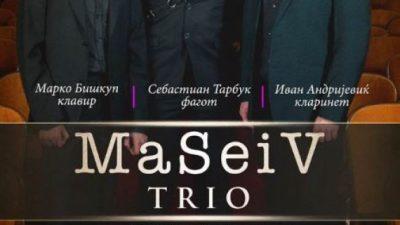 """Трио """"Масеив""""од Хрватска со концерт на УГД"""