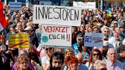 Во Германија протест поради скапите кирии