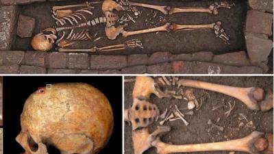 Неверојатно откритие на италијански археолози: Жена се породила откако ја погребале!