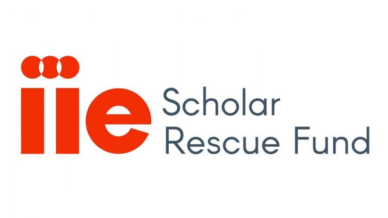 Institute of international education's scholar rescue fund