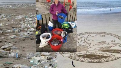 Ова е приказната за вредната 70-годишна баба која во 2018 година исчистила 52 плажи