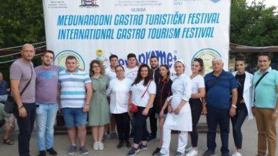 Студенти од ФТБЛ освоија пехар и медали на Меѓународен гастро-туристички фестивал