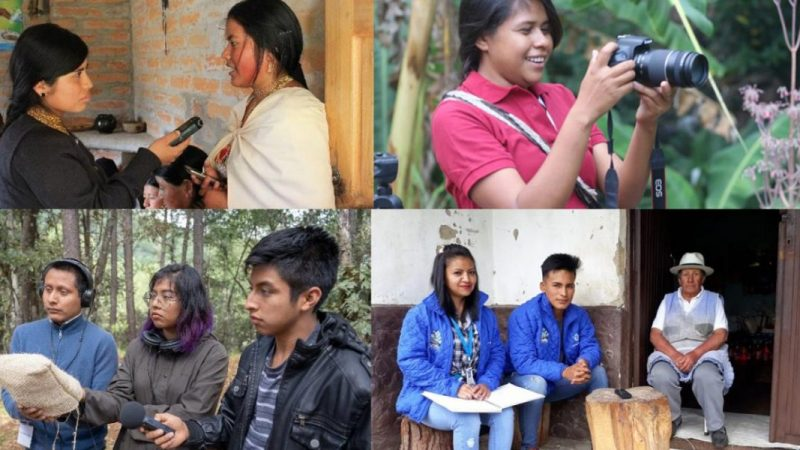 Indigenous community media youth fellowship