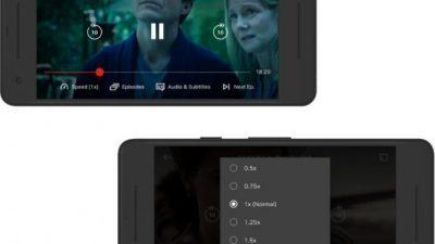 Netflix тестира можност за зголемување и намалување на брзината за гледање на содржината на Android