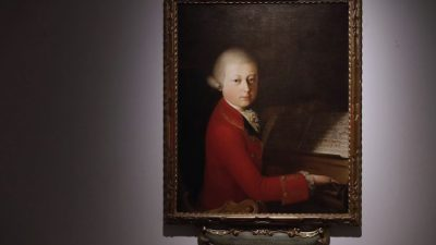 Нотен запис на Моцарт продаден за 372.500 евра