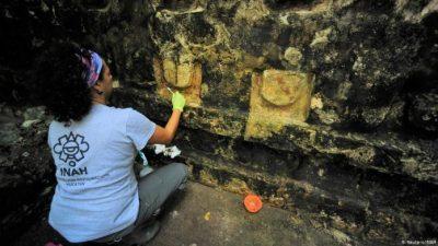Во Мексико откриен древен дворец на Маите