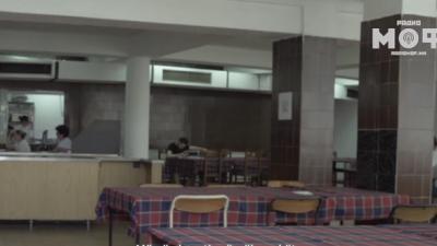 """Студенти од домот """"Стив Наумов"""" се израдуваа на пристојниот ручек"""