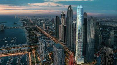 Во Дубаи се гради нов највисок хотел