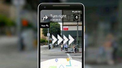 Google Maps ја унапредува 'Live View' AR навигацијата
