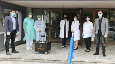 УВ Гард – иновација на дипломирани студенти на МСУ – денес дониран на болницата во Куманово