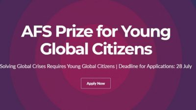 AFS PRIZE FOR YOUNG GLOBAL CITIZENS