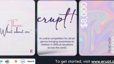 ERUPT! 2020 SOCIAL CHANGE ART COMPETITION