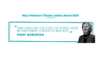 MARY ROBINSON CLIMATE JUSTICE AWARD 2020