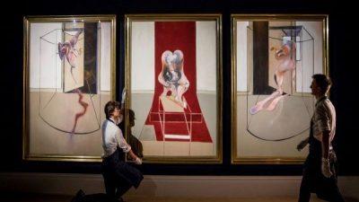 Аукција: Триптих на Френсис Бејкон од 1981 година продаден за 80 милиони евра