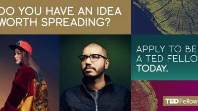 APPLY TO BE A TED FELLOW