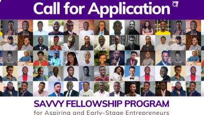 Savvy Fellowship Program for Aspiring and Early-Stage Entrepreneurs