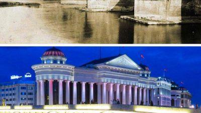 Светски познат сајт објави 20 фотографии од импозантни градби и нивната промена со текот на годините- меѓу нив и Камениот мост