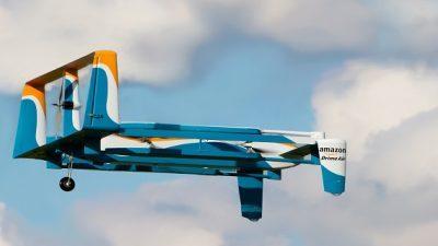 """""""Амазон"""" доби дозвола да врши испорака со беспилотни летала"""