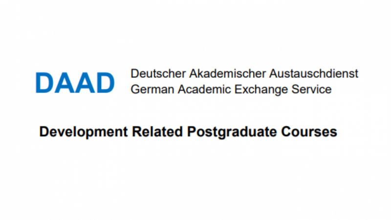 DAAD DEVELOPMENT-RELATED POSTGRADUATE COURSES (EPOS) SCHOLARSHIPS 2020/2021