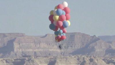 Дејвид Блејн: Лет со балони на 7.600 метри