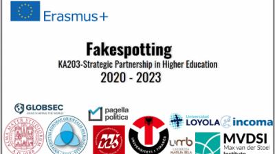 """Институтот """"Макс ван дер Штул"""" ќе биде партнер на конзорциумот на проектот """"Fakespotting"""" финансиран од Европската Комисија под грантот за стратегиски партнерства на Еразмус +"""