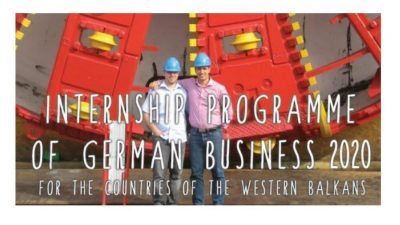 Internship Programme of German Business for the Countries of the Western Balkans