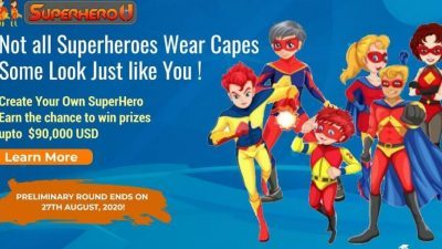 SUPERHERO U – CREATE YOUR OWN SUPERHERO!