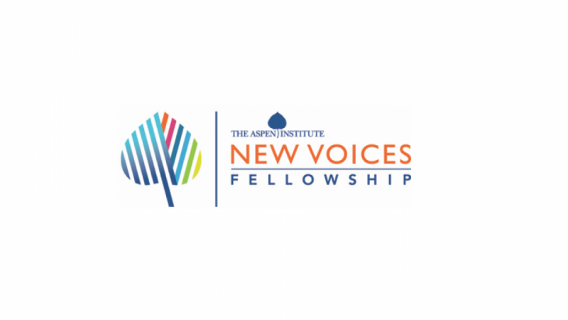 THE ASPEN INSTITUTE NEW VOICE FELLOWSHIPS