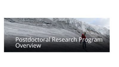 THE EARTH INSTITUTE POSTDOCTORAL RESEARCH PROGRAM