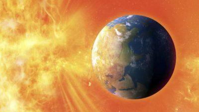 Земјата соочена со магнетна бура