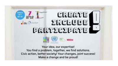 """CREATE! INCLUDE! PARTICIPATE!"" PROGRAMME 2020"