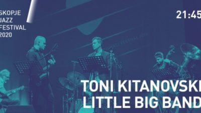 Антонио Китановски, Litle big band и Сашо Поповски трио во живо на Скопскиот џез фестивал
