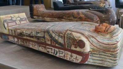 ФОТО: Во Египет откриени 59 саркофази стари над 2.600 години