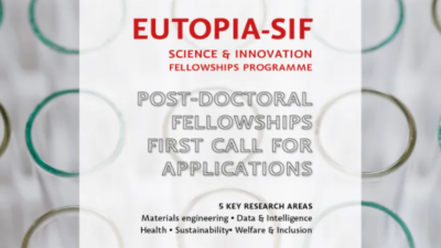 EUTOPIA-SIF POST DOCTORAL FELLOWSHIPS