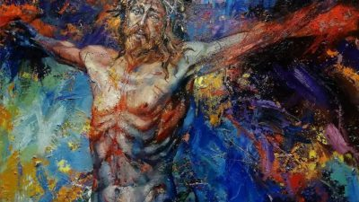 СТРАДАЊАТА НА ИСУС: Циклус слики на уметникот Филев со религиски мотиви