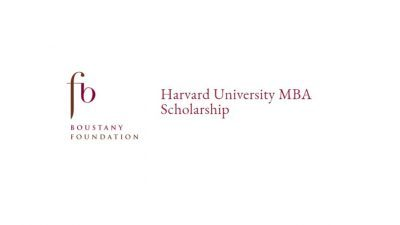 THE BOUSTANY MBA HARVARD SCHOLARSHIP 2021