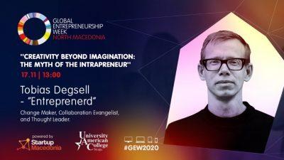 УАКС дел од Глобалната недела на Претприемништво (GEW2020)