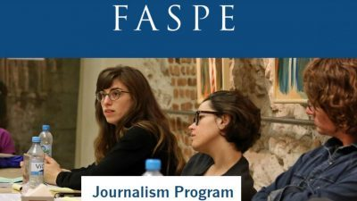 FASPE JOURNALISM PROGRAM
