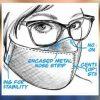 Измислиле заштитна маска од која очилата не се замаглуваат (видео)