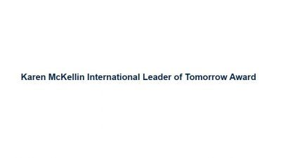 KAREN MCKELLIN INTERNATIONAL LEADER OF TOMORROW AWARD