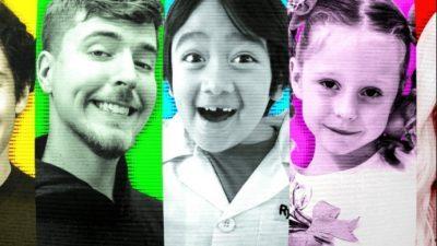 Меѓу нив и мали деца: Овие лица заработиле вртоглави милиони на Јутјуб годинава