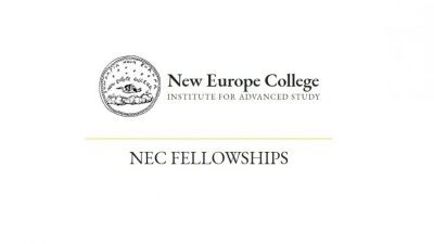 NEW EUROPE COLLEGE FELLOWSHIPS
