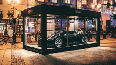 Најскапата новогодишна декорација – Bugatti La Voiture Noire