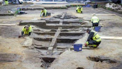 Норвешки археолози: Пронајден голем викиншки брод во кој можеби бил погребан крал