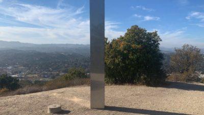 Нов монолит се појави во Калифорнија