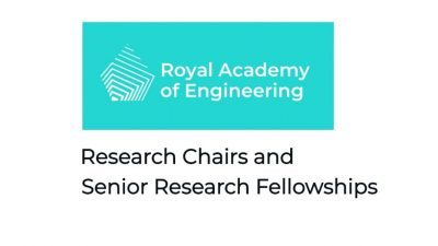 RESEARCH CHAIRS AND SENIOR RESEARCH FELLOWSHIPS 2021
