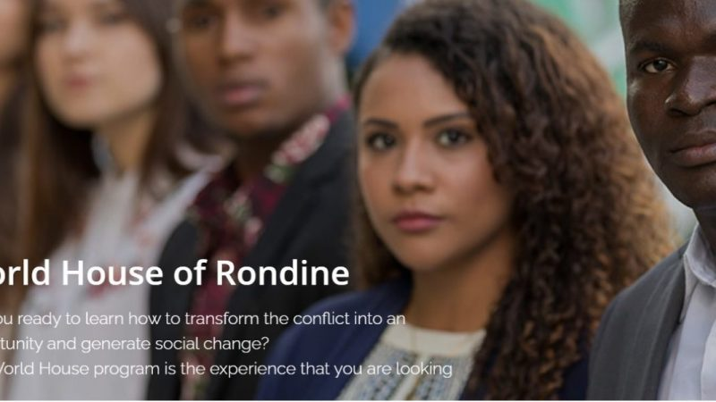 Rondine Cittadella della Pace – Scholarship for Students from the Balkans