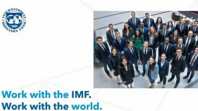 International Monetary Fund Internship Program 2021 for Young Professionals