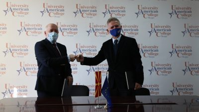 Потпишан Меморандум за соработка меѓу Агенцијата за национална безбедност и Универзитет Американ Колеџ Скопје